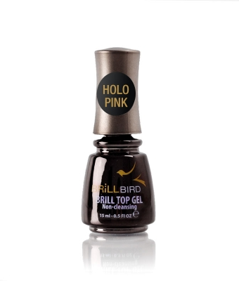 Brill Top Gel Holo Pink 5 ml