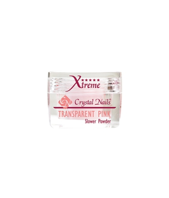 Praf acrylic slower powder transparent pink 100gr