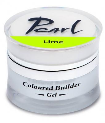 Gel de constructie colorat 15 ml Pearl Nails Lime