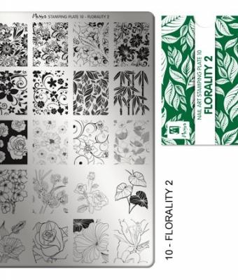 Matrita pentru stampila nr 10 imprimeuri florale 2
