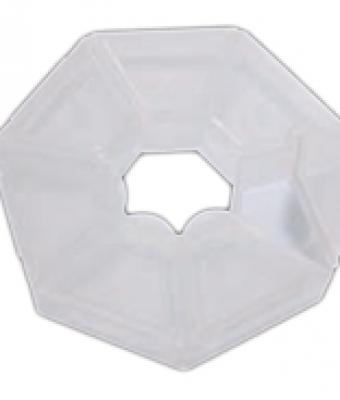 Cutie pentru depozitarea ornamentelor heptagonale
