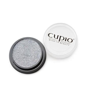 Sclipici premium holografic argintiu