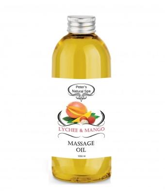 Ulei de masaj mango lychee 1l