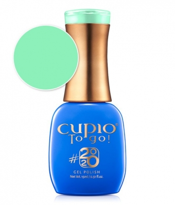 Cupio gel lac 2020 Collection Biscay Green