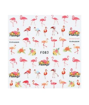 Abtibild unghii F083 Flamingo