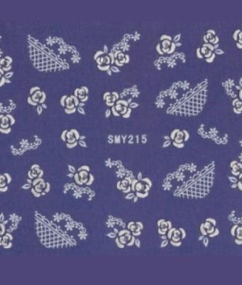 BB Nail Sticker SMY215 White