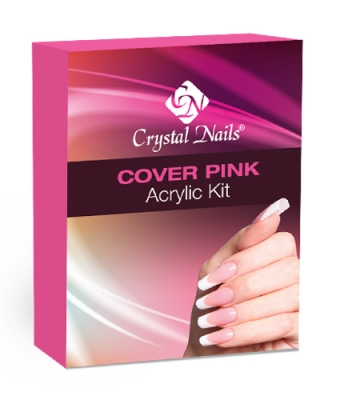 Cover pink acrylic powder kit