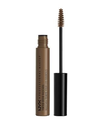 Mascara sprancene NYX Professional Makeup Tinted BrowMascara Brunette