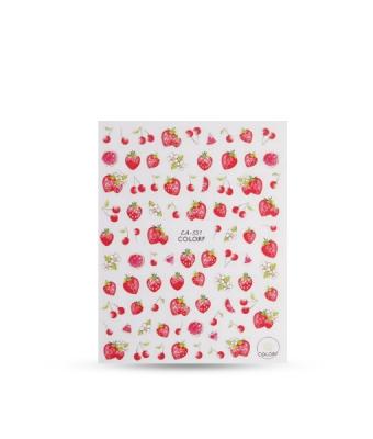 Abtibild unghii CA531 Fructe rosii