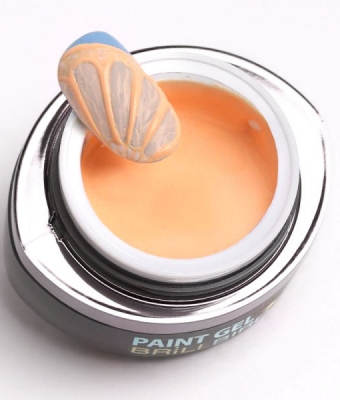 Paint Gel Contour 4 peach  5ml BrillBird