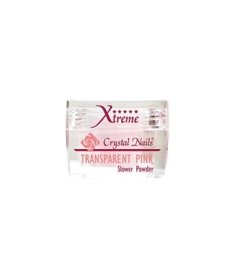 Praf acrylic slower powder transparent pink 28gr