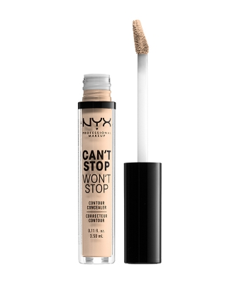 Corector NYX Professional Makeup Can`t Stop Won`t Stop Contour Concealer Light Ivory
