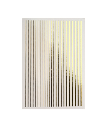 Magic Stripes Stickers Gold