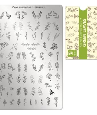 Matrita pentru stampila nr 79 frunze verzi