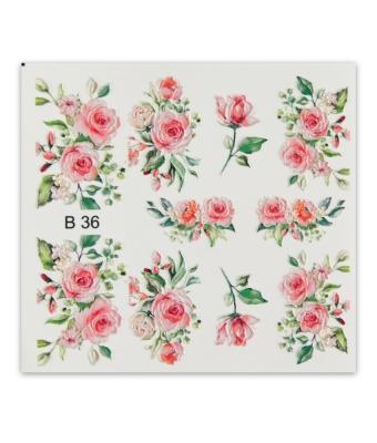 BB Nail sticker B36  3D