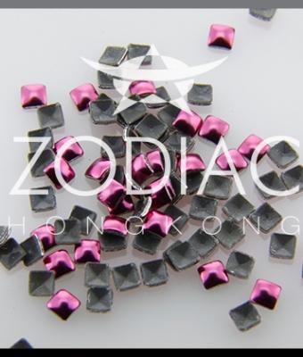 Decor Zodiac Patrat Pink 2mm