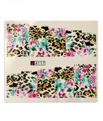 BB Nail Sticker A117