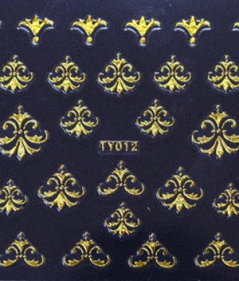 Abtibild unghii TY012 Gold