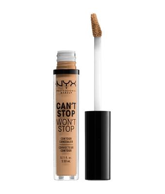 Corector NYX Professional Makeup Can`t Stop Won`t Stop Contour Concealer Soft Beige